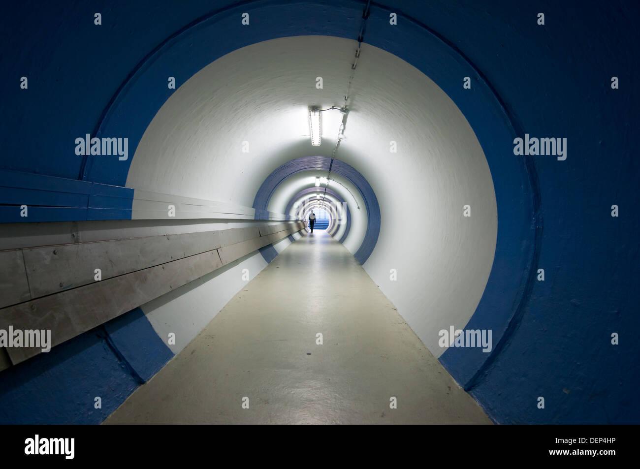 tunnel;Formula 1, Hockenheimring, Hockenheim, Germany, Europe - Stock Image