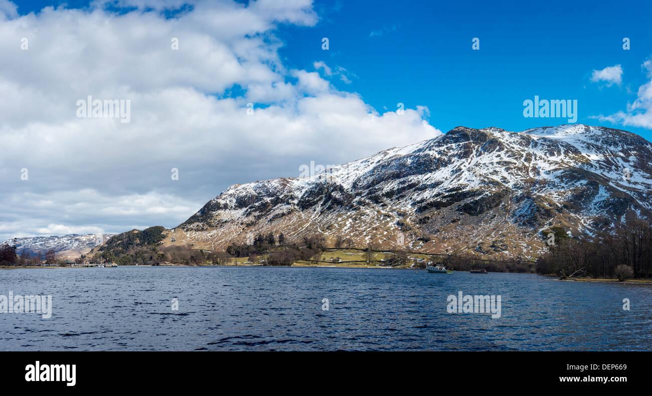 glenridding,ullswater,lake district,cumbria,england,uk,europe - Stock Image