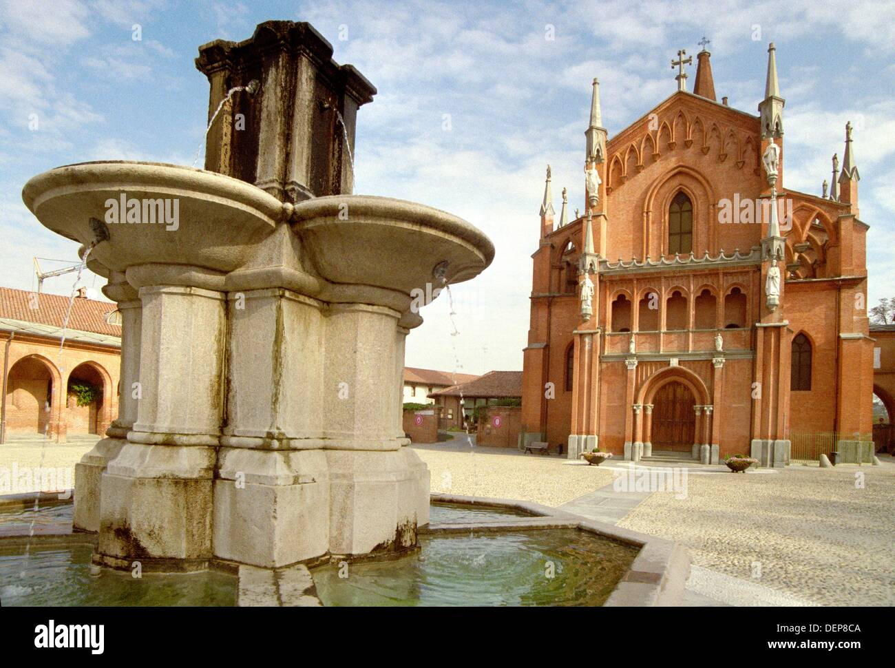 San Vittore Stock Photos Images Alamy Pollenzo Slip On Trendy White Italy Piedmont Martire Church Image