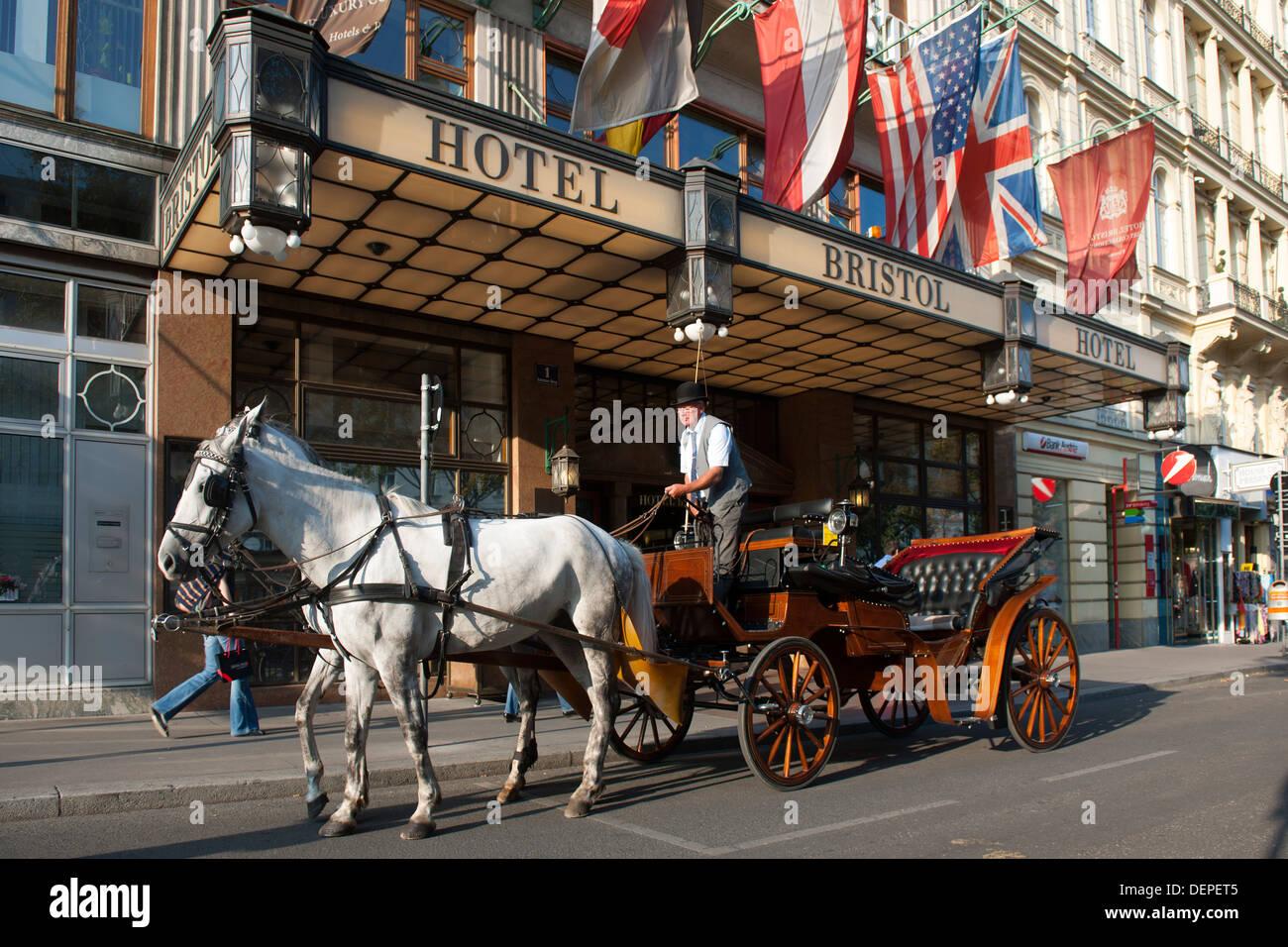 Österreich, Wien 1, Hotel Bristol - Stock Image