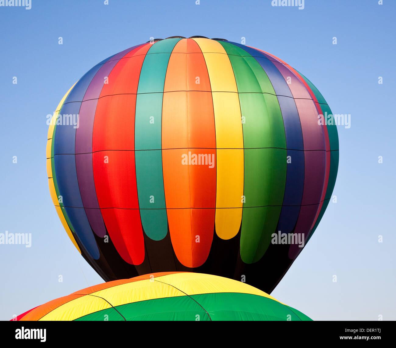 Hot air balloons - Stock Image