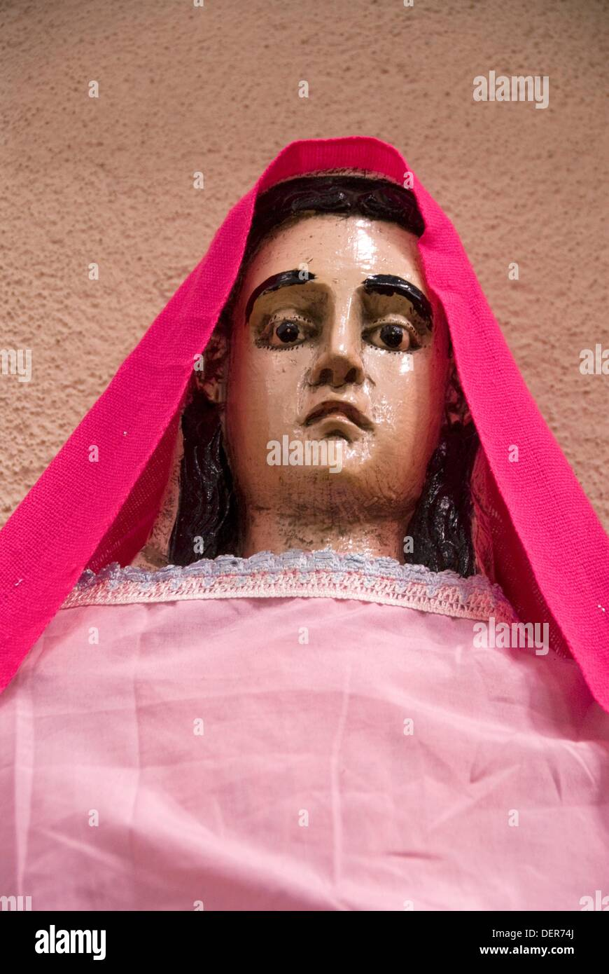 c26a51c3 Statues of saint dressed in indigenous attire at the Catholic Church ...