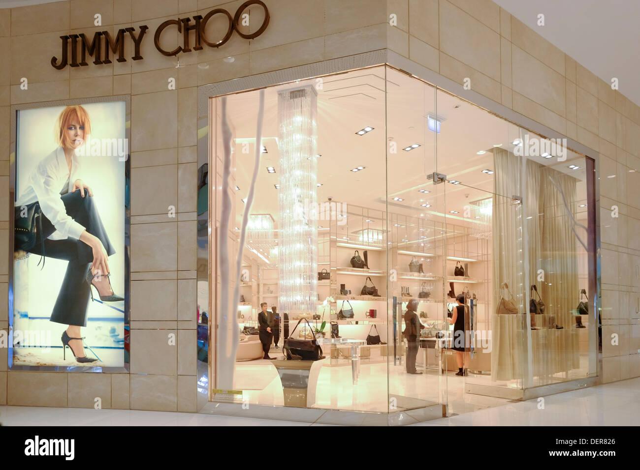 f687c0084c6 Jimmy Choo store in Dubai Mall in Dubai United Arab emirates Stock ...