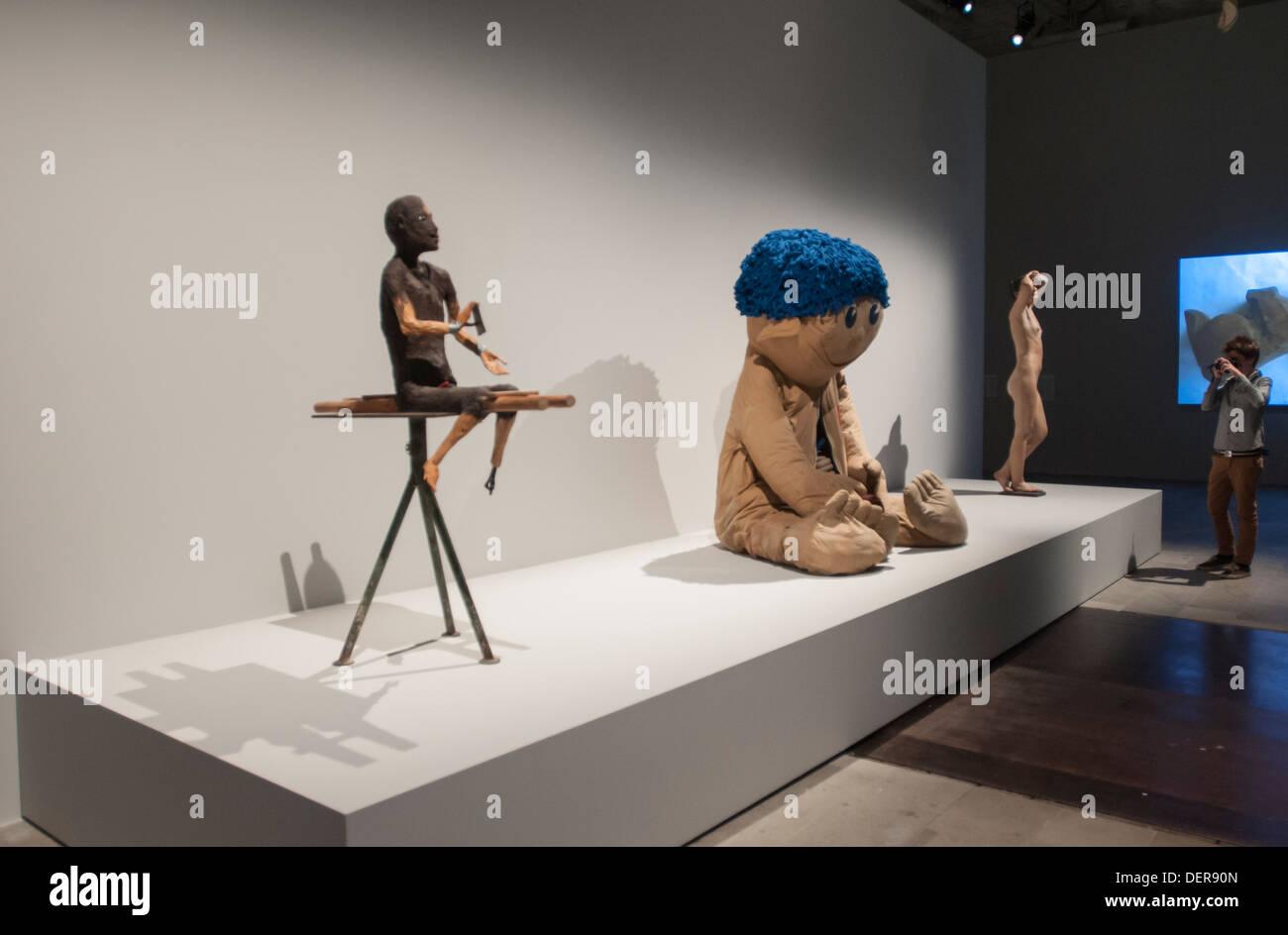 Venice Biennale 2013,' Palazzo enciclopedico' exhibition - Stock Image