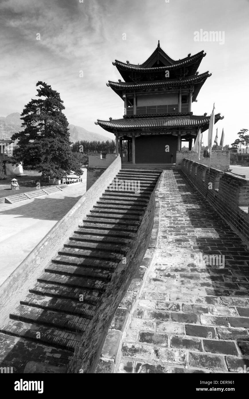 Meidai lamasery, Baotou, Inner Mongolia, China - Stock Image