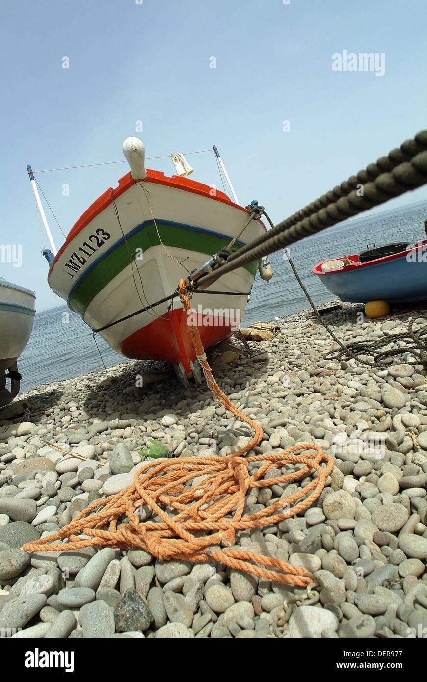 Filicudi, Aeolian islands, Italy Stock Photo
