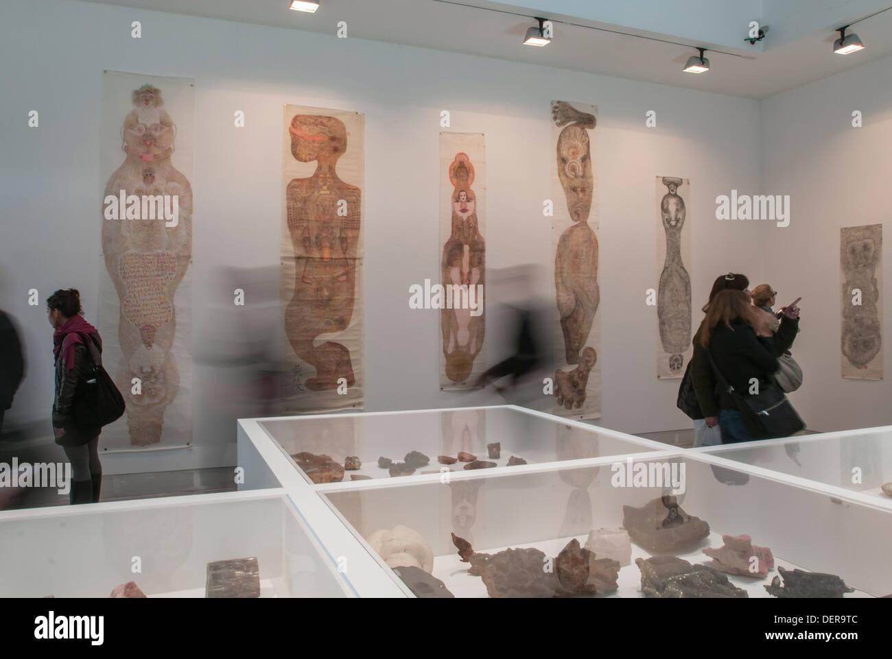 Venice Biennale 2013,' Palazzo enciclopedico' exhibition, - Stock Image