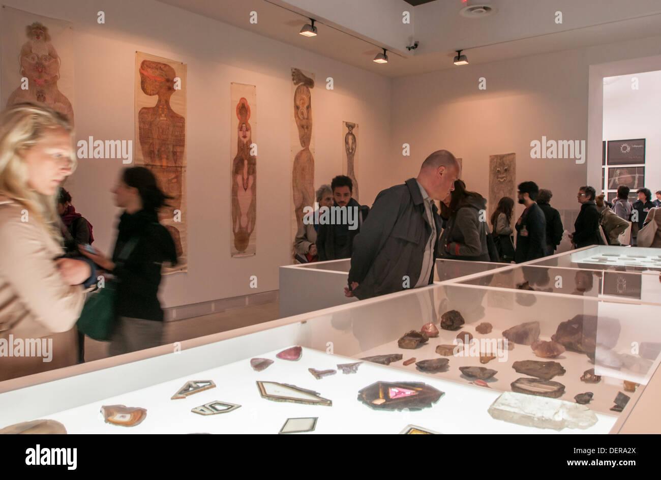 Venice Biennale 2013,' Palazzo enciclopedico' exhibition. - Stock Image