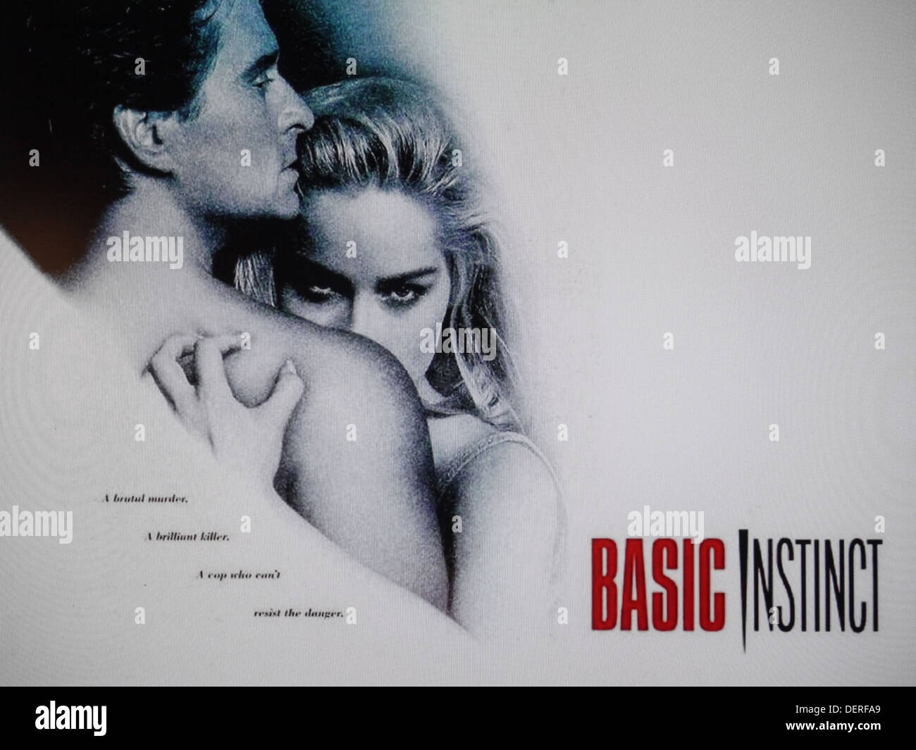 basic instinct movie - Stock Image