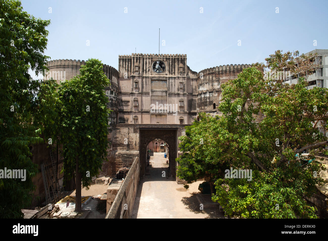 Bhadra Fort, Ahmedabad, Gujarat, India - Stock Image