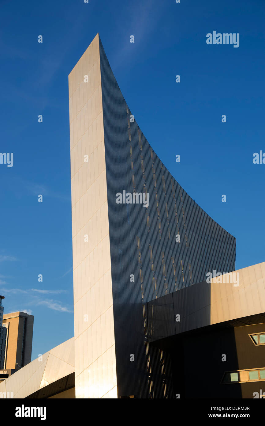 Imperial War Museum North, Salford, Greater Manchester - Stock Image