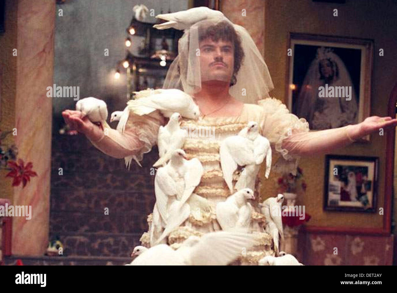 NACHO LIBRE 2005 Paramount Pictures film with Jack Black - Stock Image