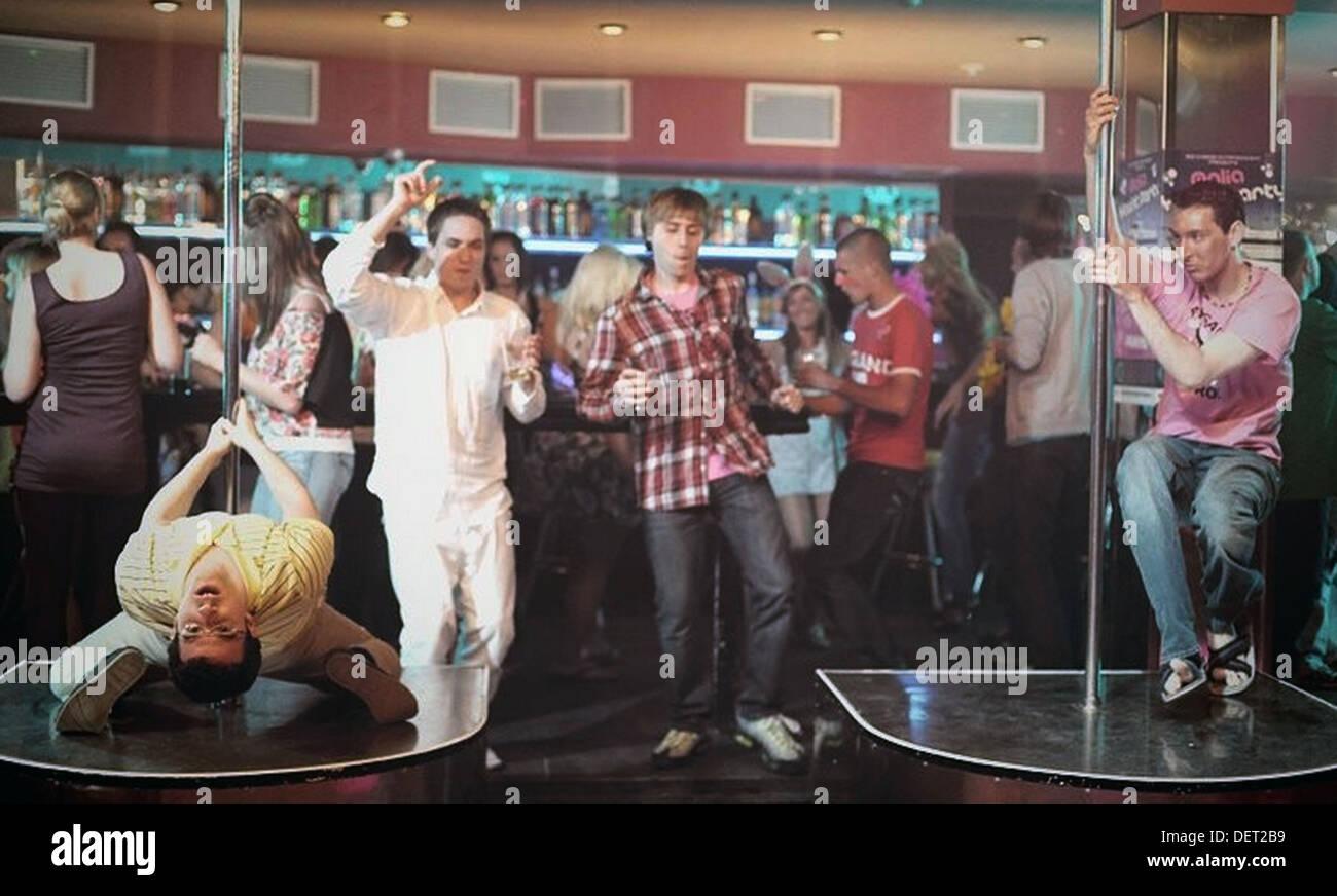 THE INBETWEENERS 2012 Wrekin Hill Entertainment film - Stock Image