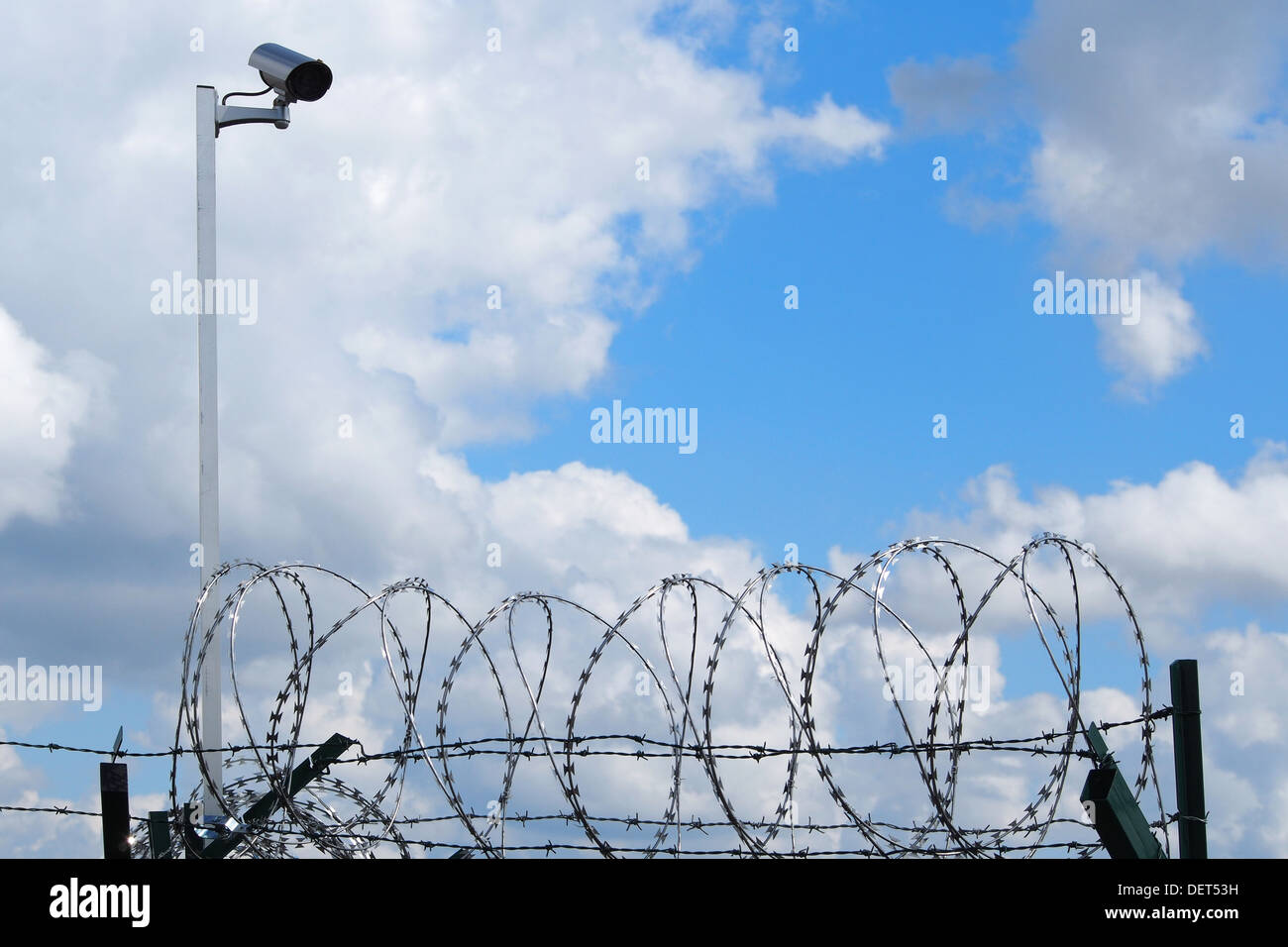 Restricted area - Stock Image