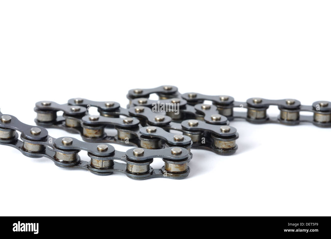 Bicycle Chain - Stock Image