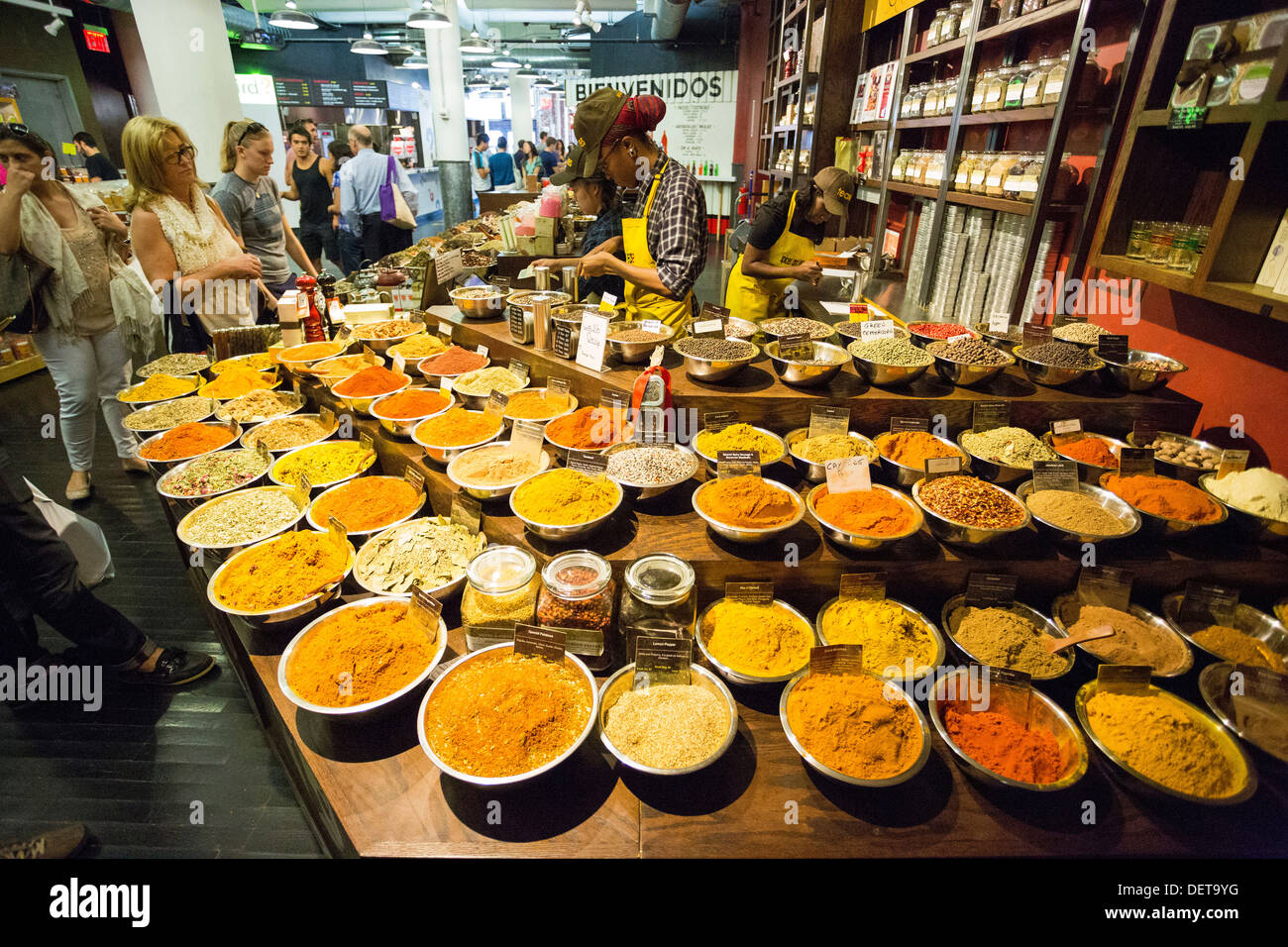 Spices And Tease Store At Chelsea Market New York City Ny