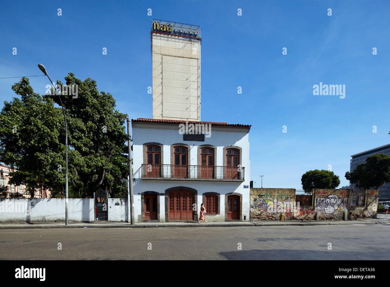 Casa Historica de Deodoro, Rio de Janeiro, Brazil, South America - Stock Image