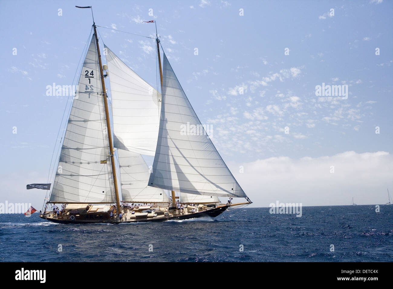 The Super Yacht Cup, Palma de Mallorca, Spain Stock Photo