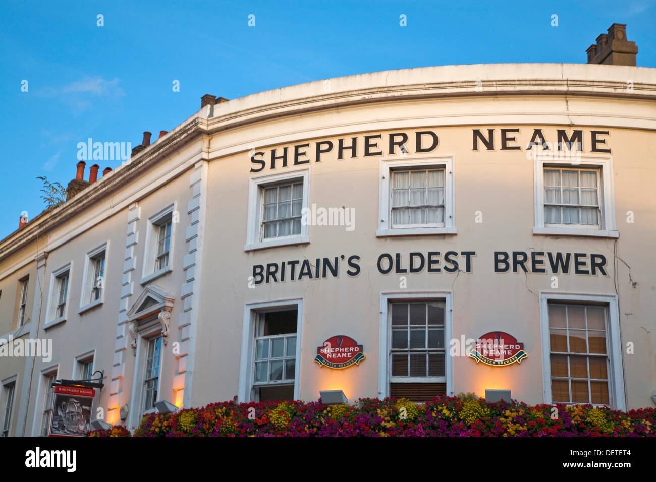 Shepherd Neame, Britain´soldest brewer, The Spanish Galleon Tavern, Greenwich, London, England, UK - Stock Image