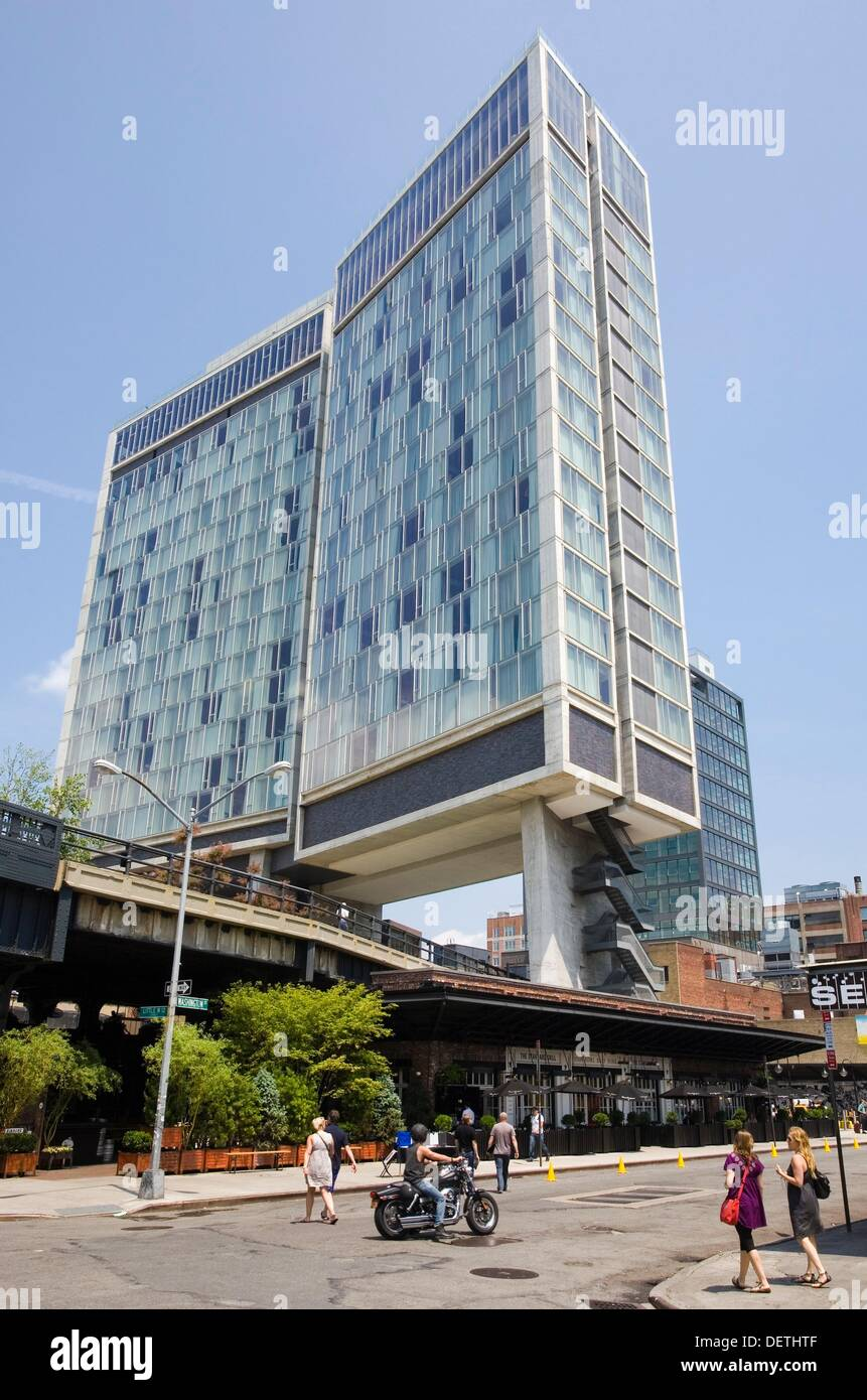 Standard Hotel, High Line Elevated Park, Meat Packing