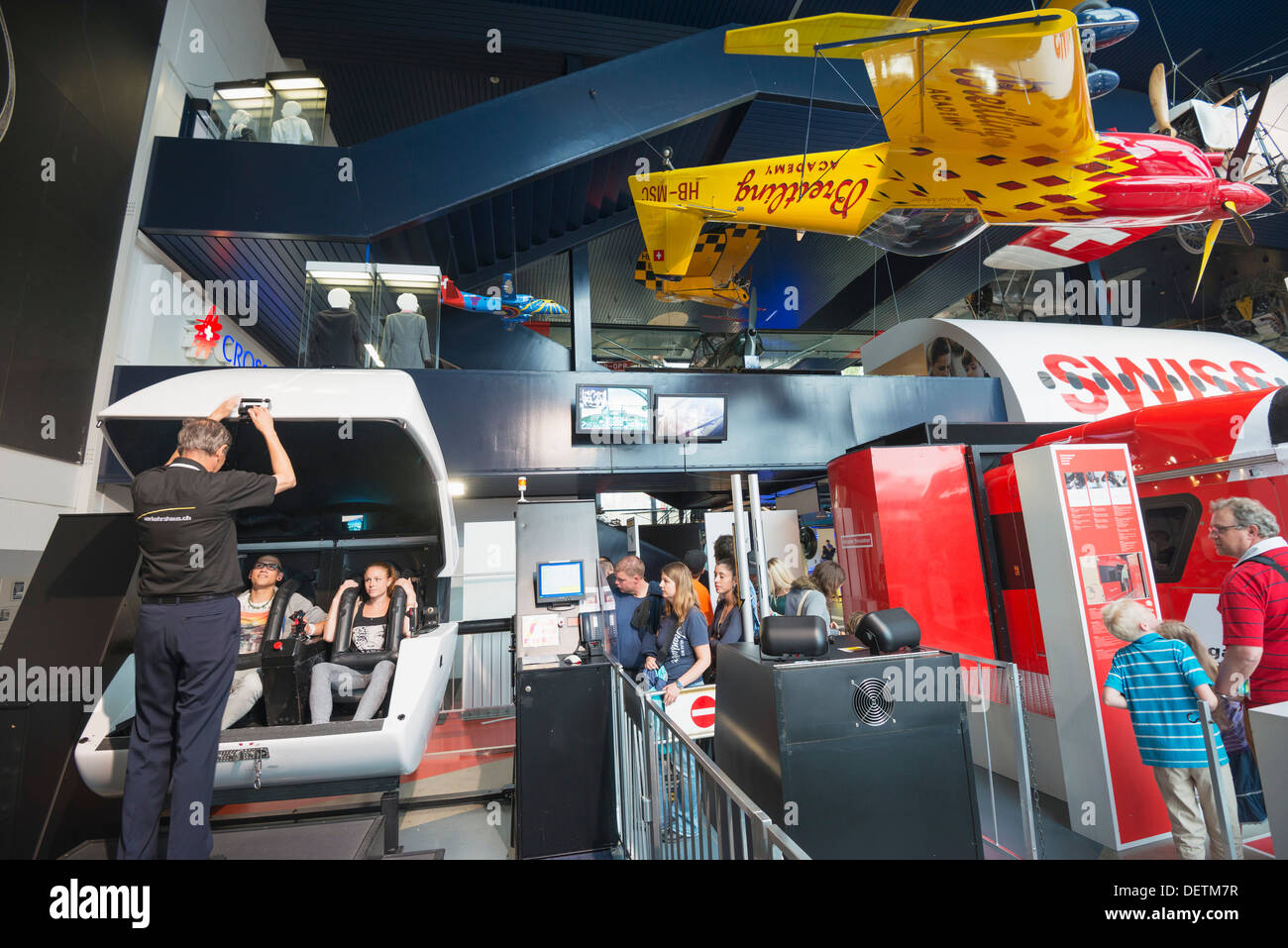 c2e2a830fce Flight Simulator Stock Photos   Flight Simulator Stock Images - Alamy