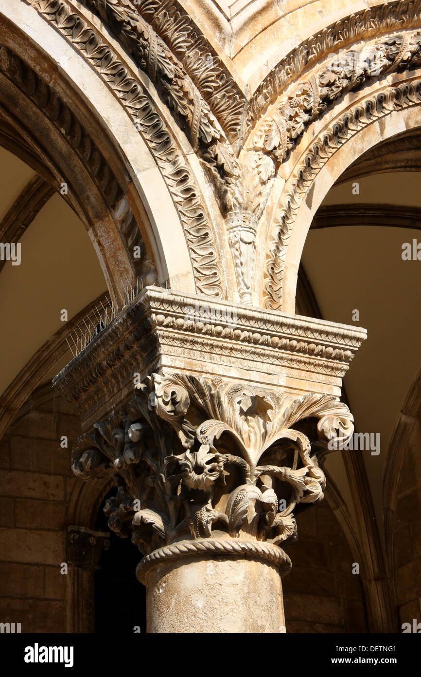 Decorated Arc - Stock Image