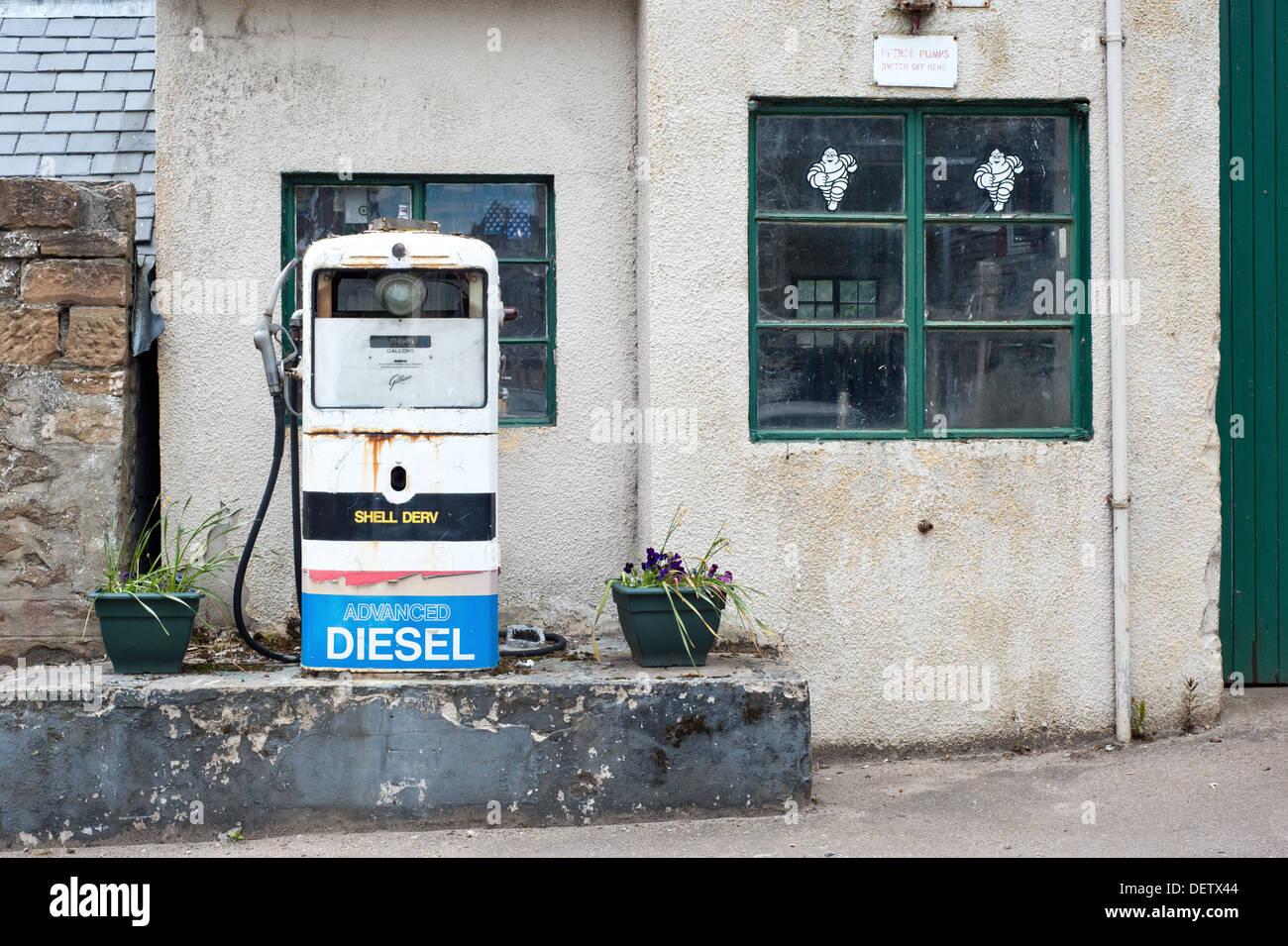 Self Service Diesel Pump Stock Photos & Self Service Diesel