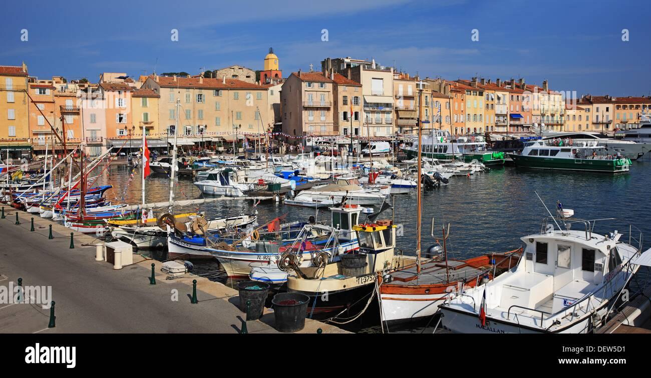 France, Cote d´Azur, St-Tropez - Stock Image