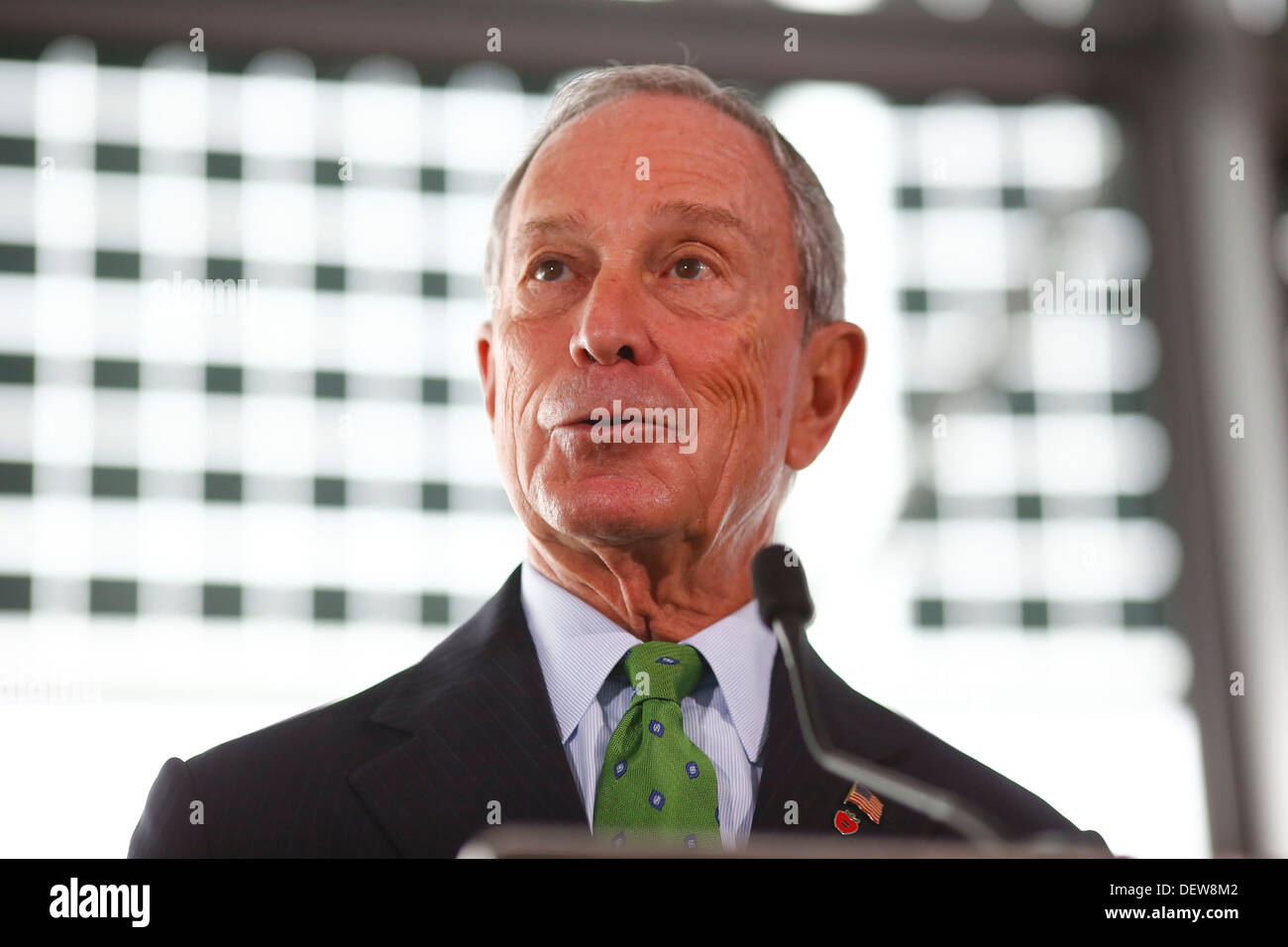 New York Mayor Michael R. Bloomberg on 24  September 2013  in London Britain. - Stock Image