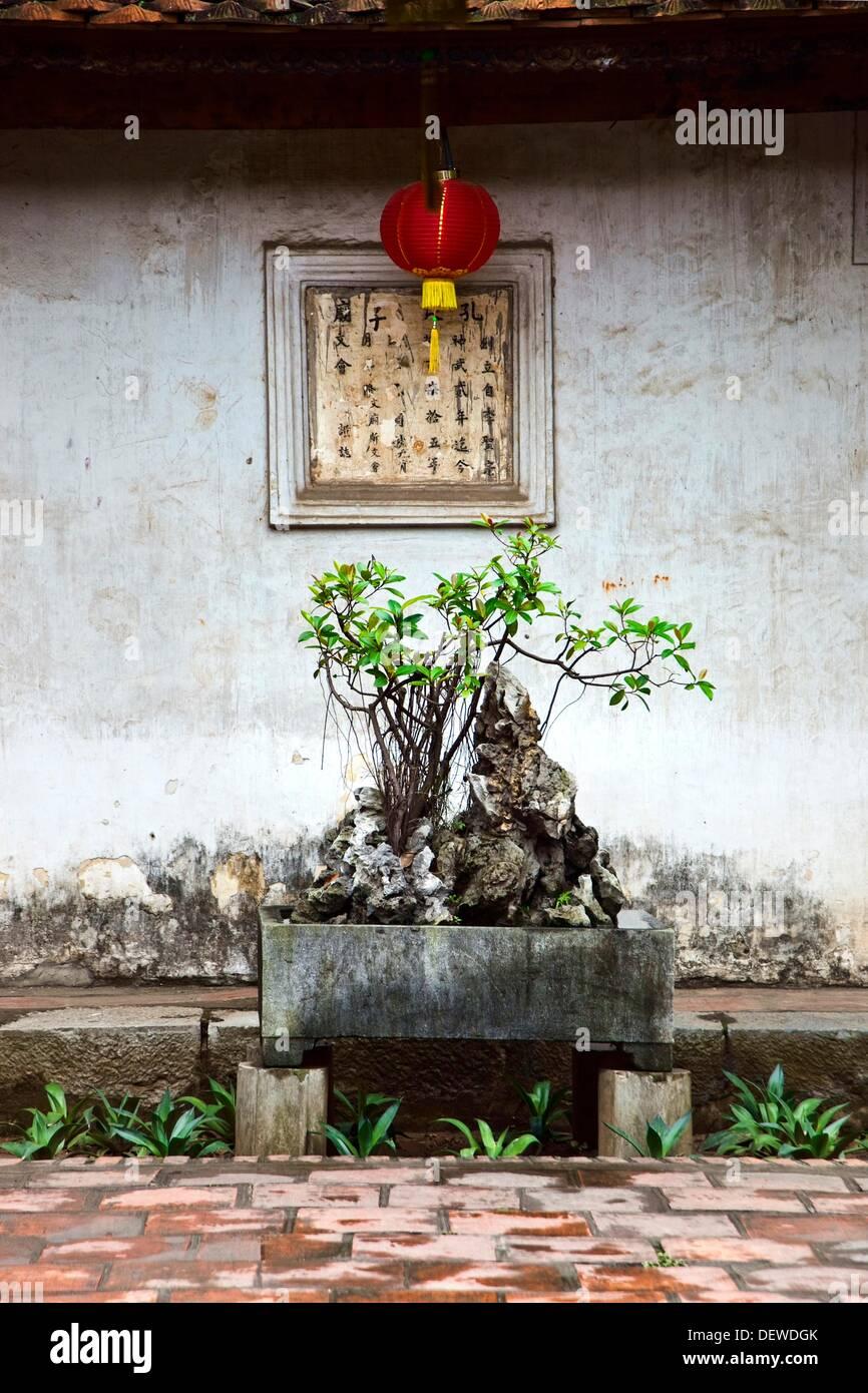 Literature Temple  HANOI  VIETNAM. - Stock Image