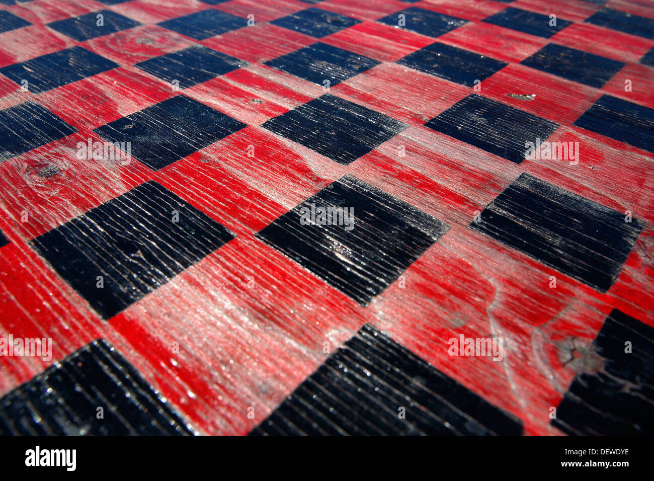 checkerboard - Stock Image