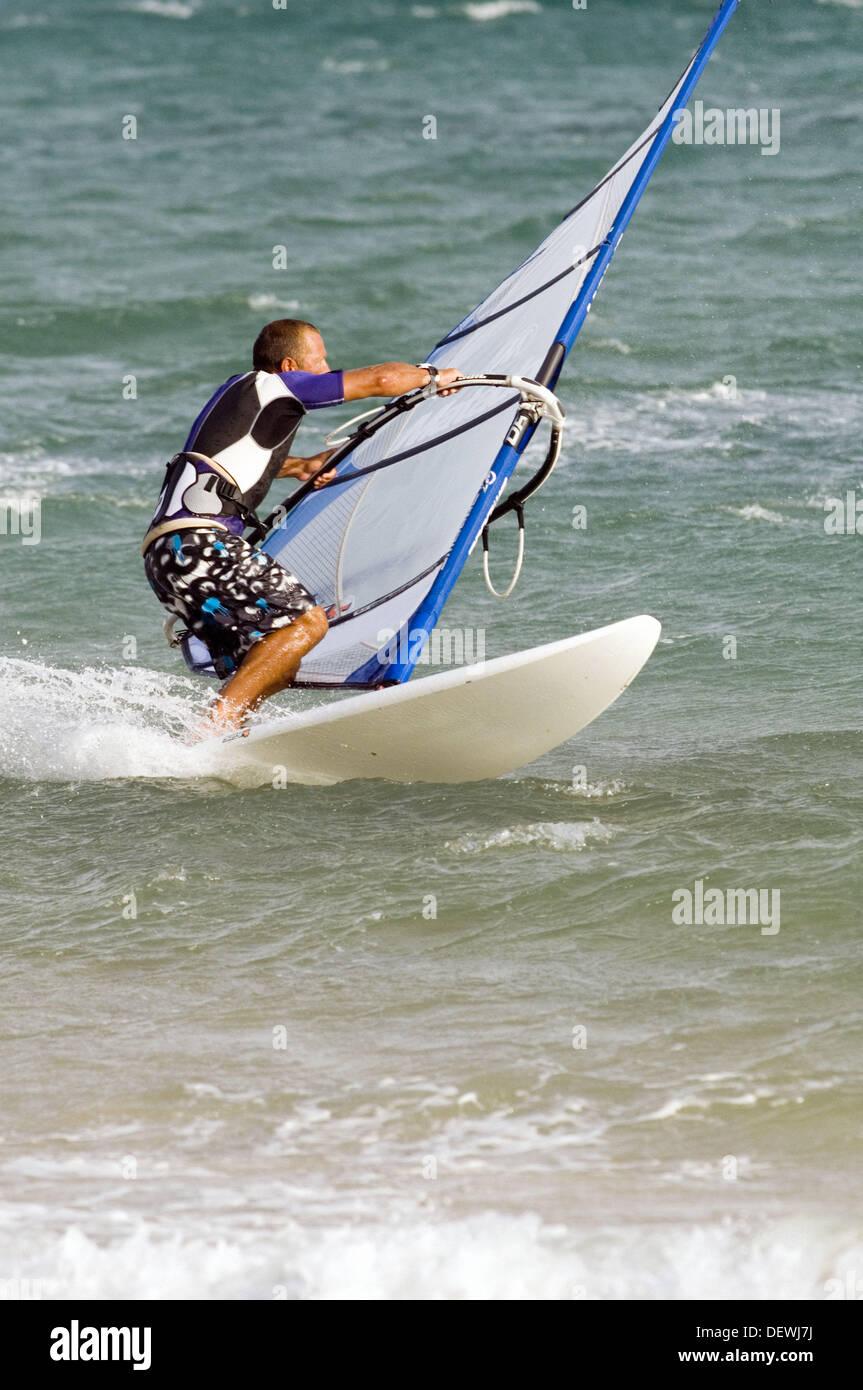 Windsurfing - Stock Image