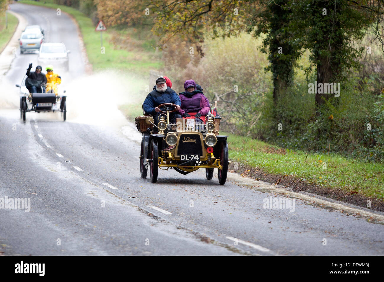Veteran London to Brighton Automobile (Car) Run 2012. - Stock Image