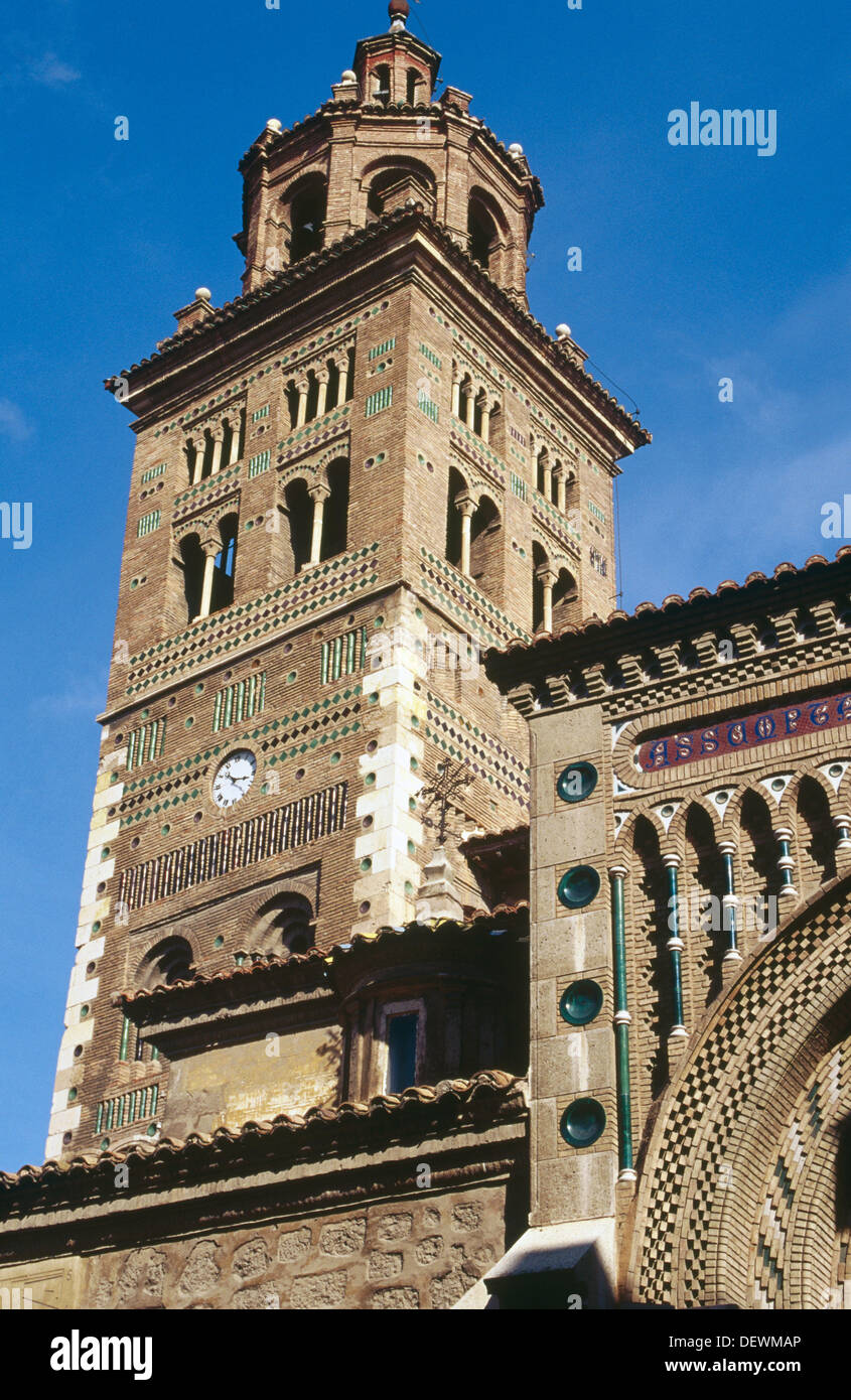 Teruel Spain Map.Tower Of The Cathedral Teruel Spain Stock Photo 60801070 Alamy