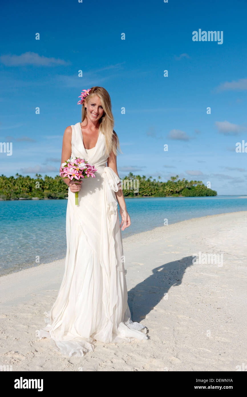 Wedding. Aitutaki in The Cook Islands Stock Photo: 60802318 - Alamy