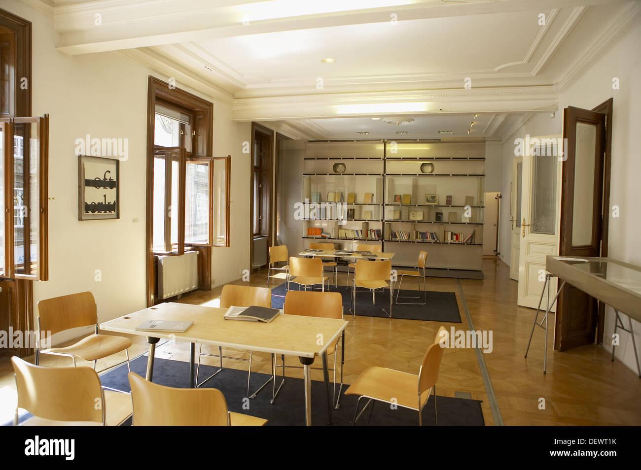 Sigmund Freud Museum, Vienna. Austria - Stock Image