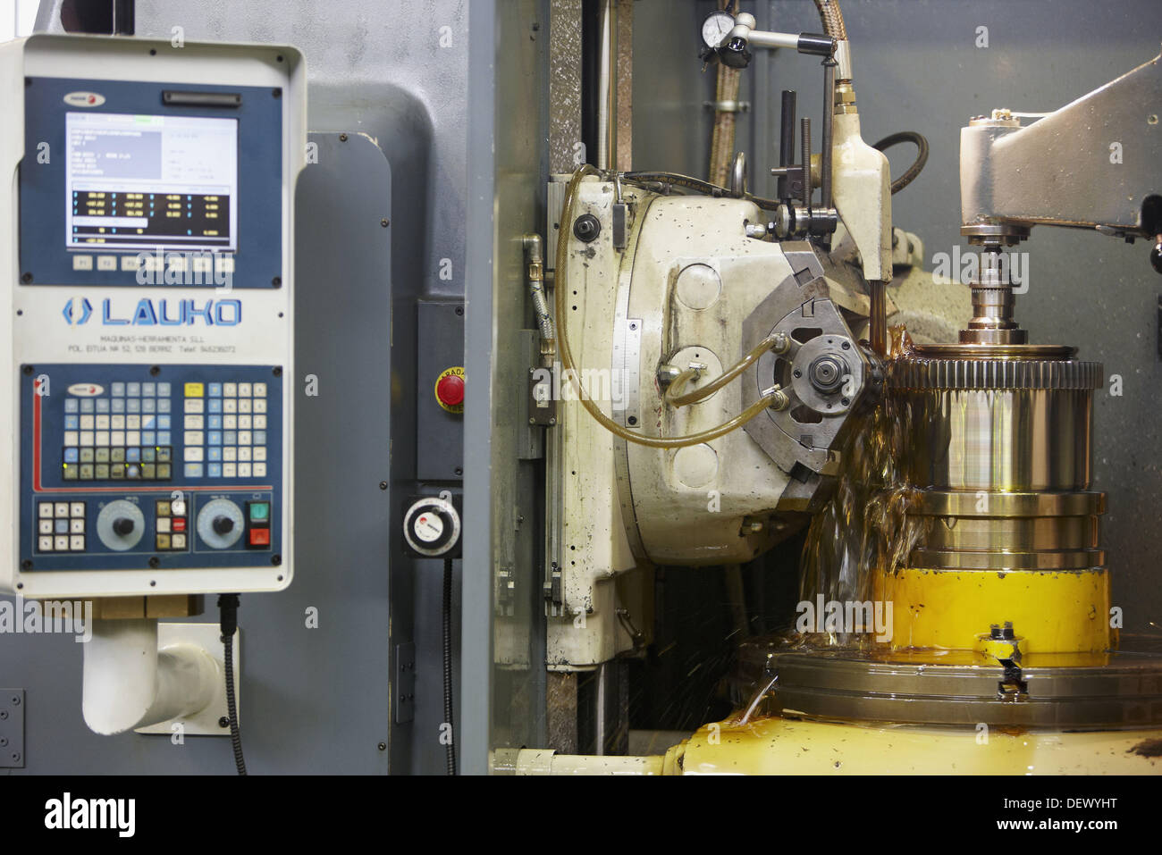 Transmission manufacturing, metallurgy, Guipuzcoa, Basque Country, Spain - Stock Image
