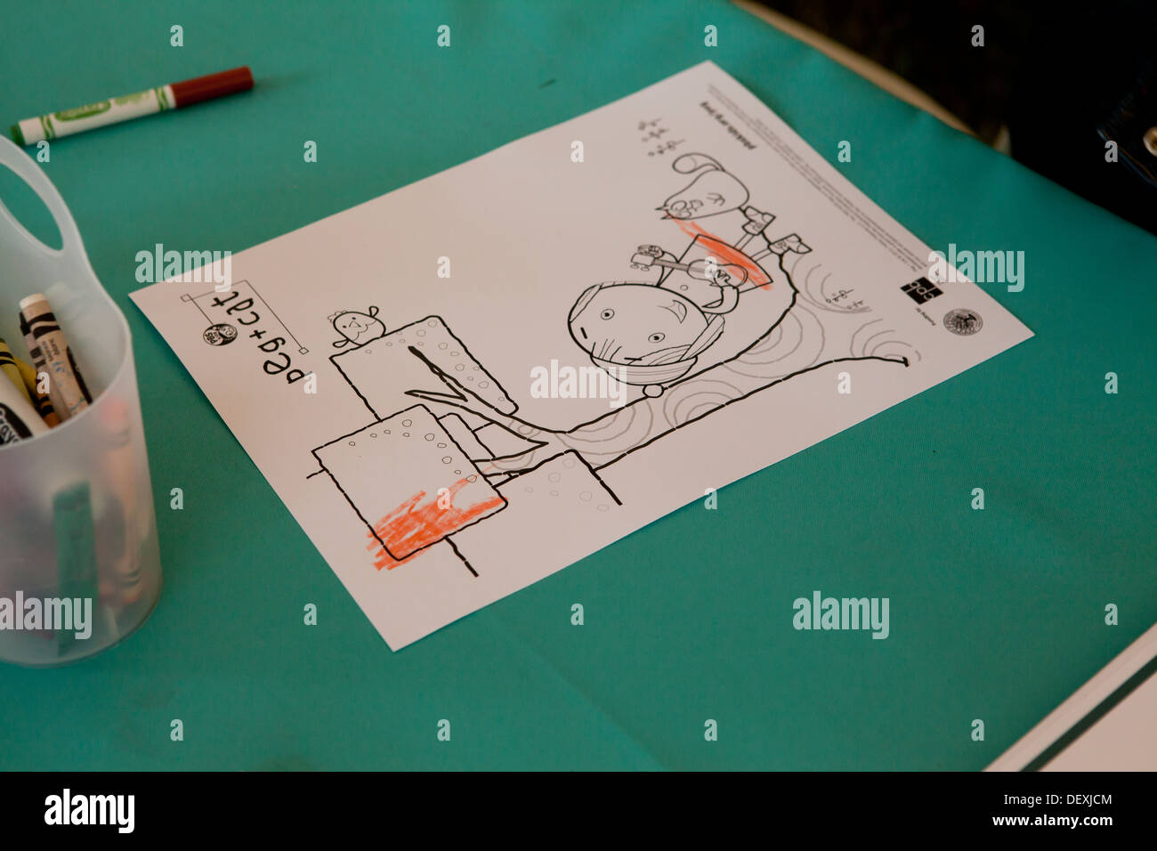 Kids Coloring Stock Photos & Kids Coloring Stock Images - Alamy