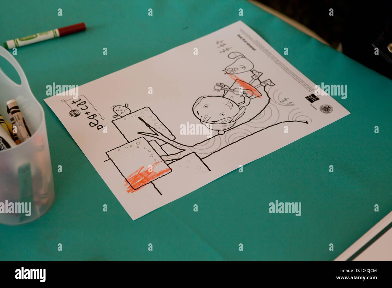 Sheet Coloring Stock Photos & Sheet Coloring Stock Images - Alamy