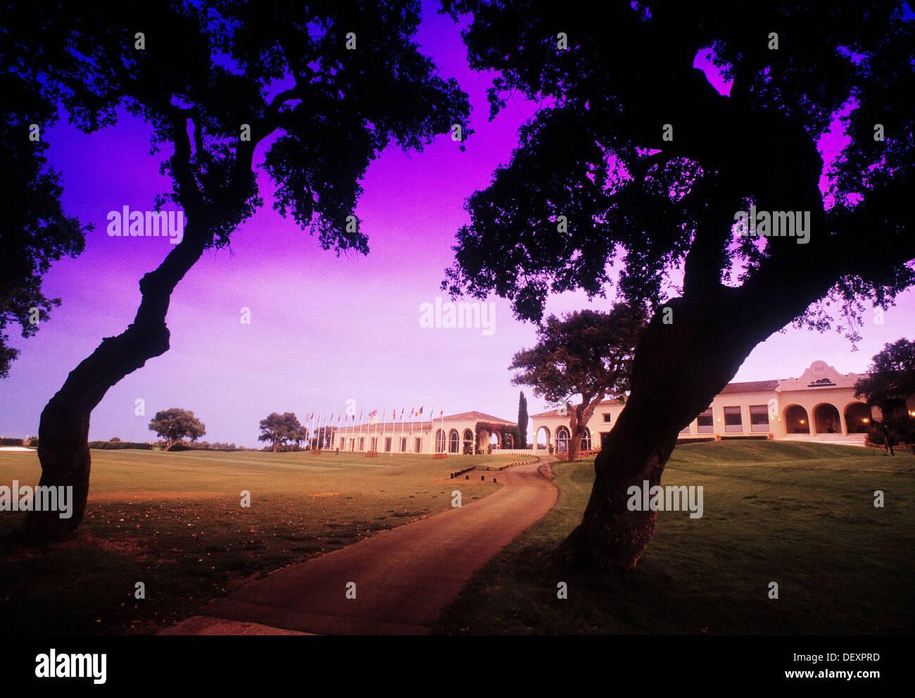 Valderrama golf club in Sotogrande. Cádiz province, Spain - Stock Image