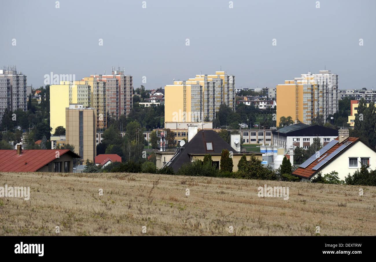 Czech Republic. Prague. Periphery of the city. - Stock Image