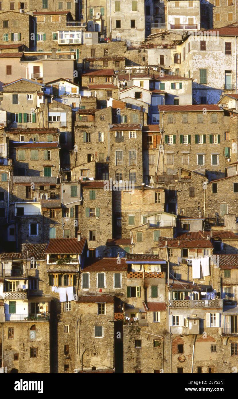 ceriana architettura, liguria, italia Stock Photo