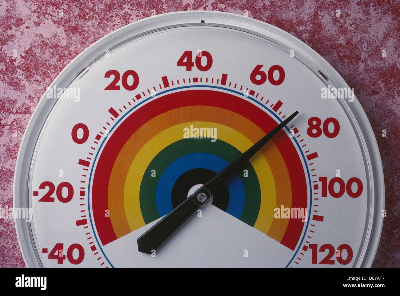 Outside Thermometer - Stock Image