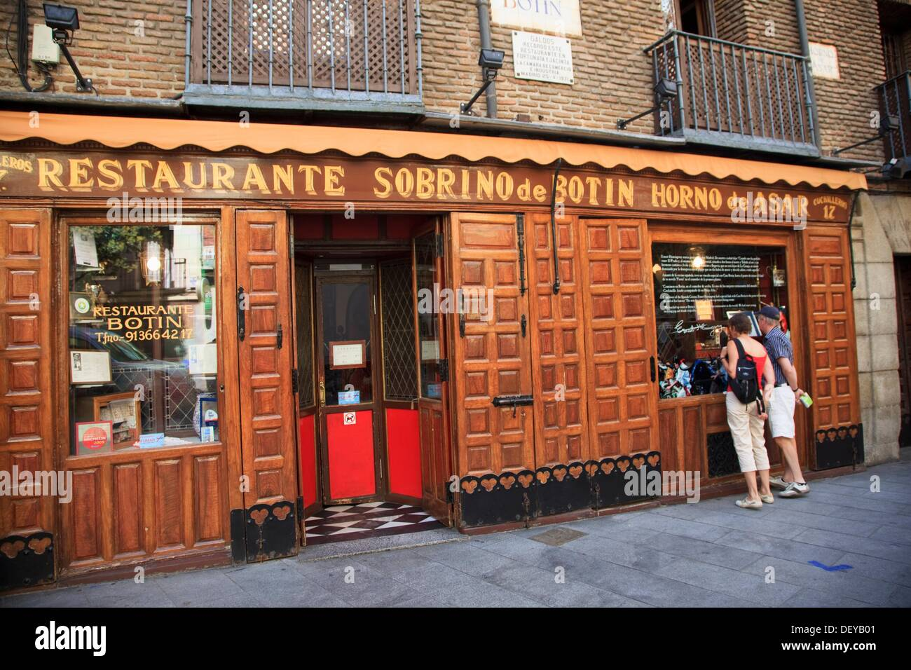 Botin restaurant madrid stock photos botin restaurant for Casa botin madrid