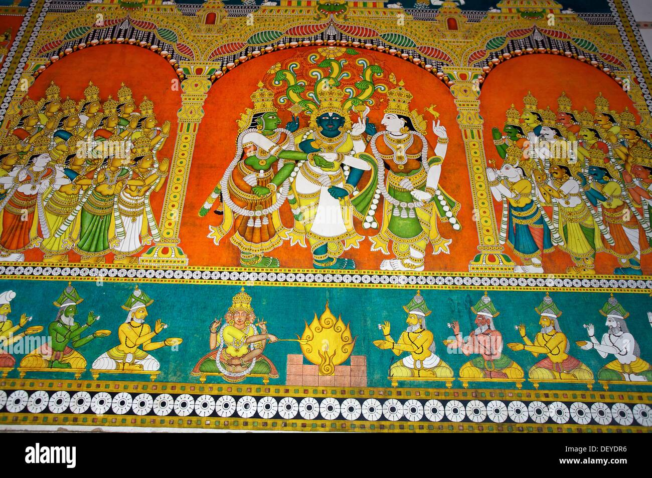 Meenakshi Temple Murals High Resolution Stock Photography and Images - Alamy