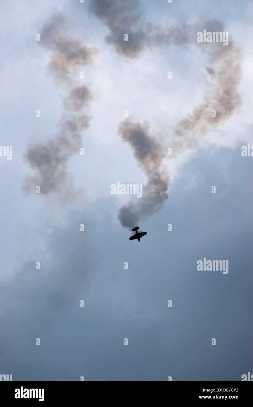 Airshow in air picnic in Bielsko-Biala, Poland in 2013. - Stock Image