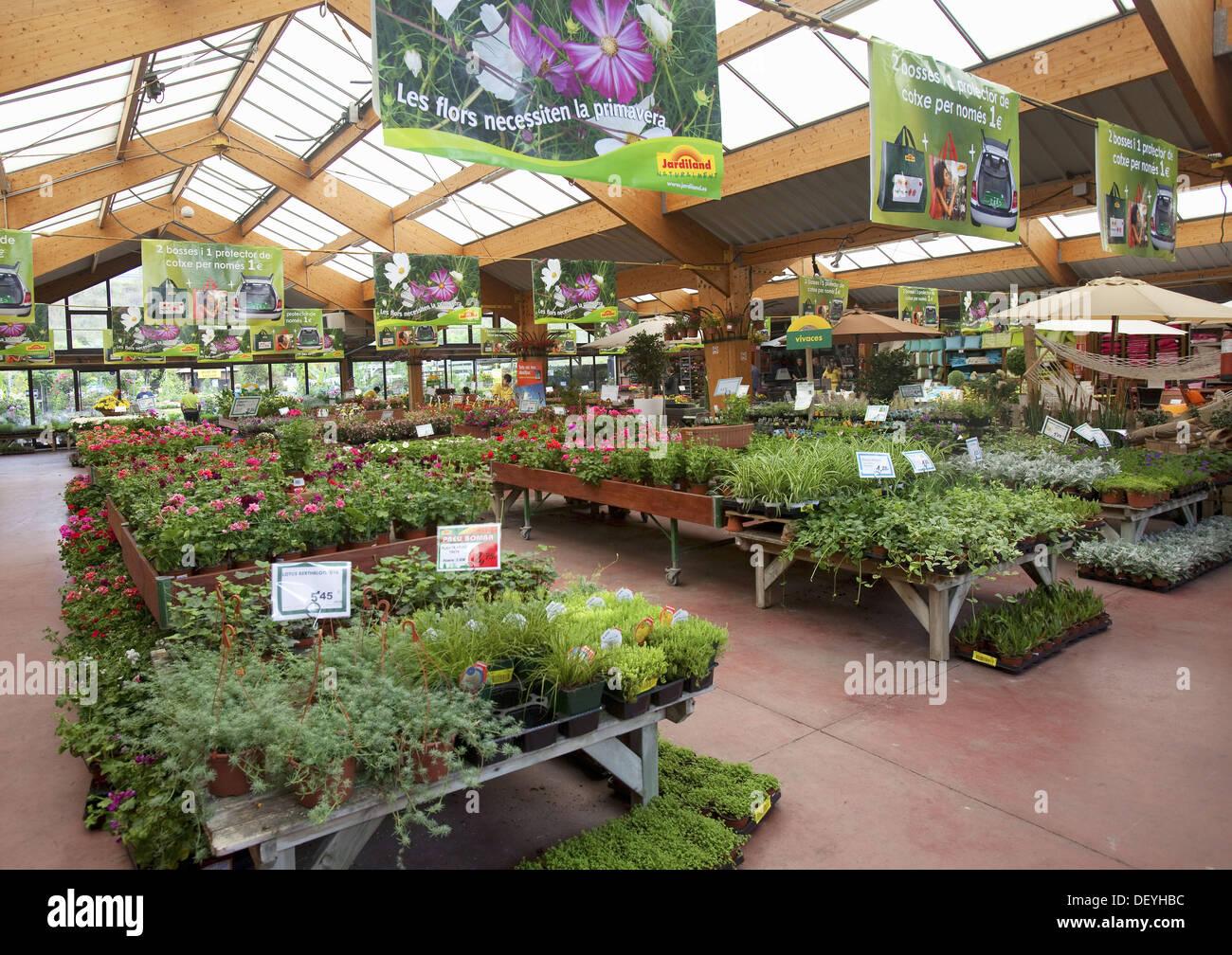 spain mataro barcelona province garden center jardiland