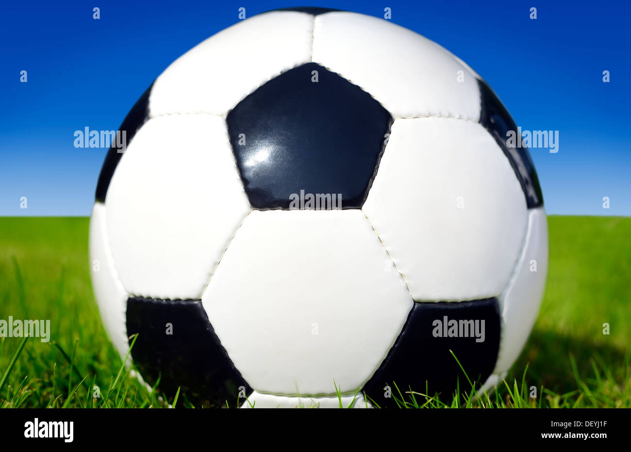 Football, Fußball - Stock Image
