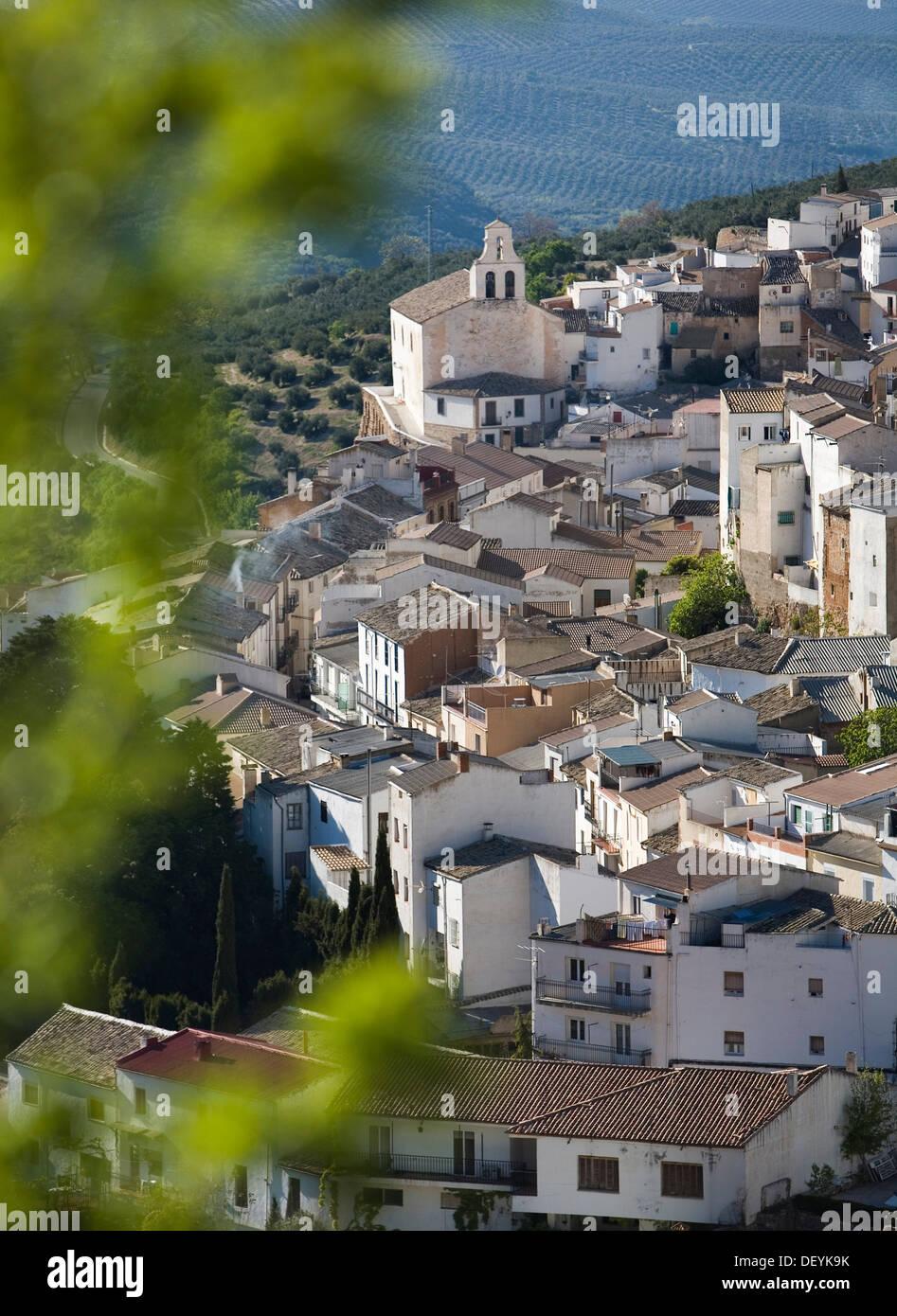 Torres village, Sierra Mágina Natural Park, Jaén, Spain, Europe - Stock Image