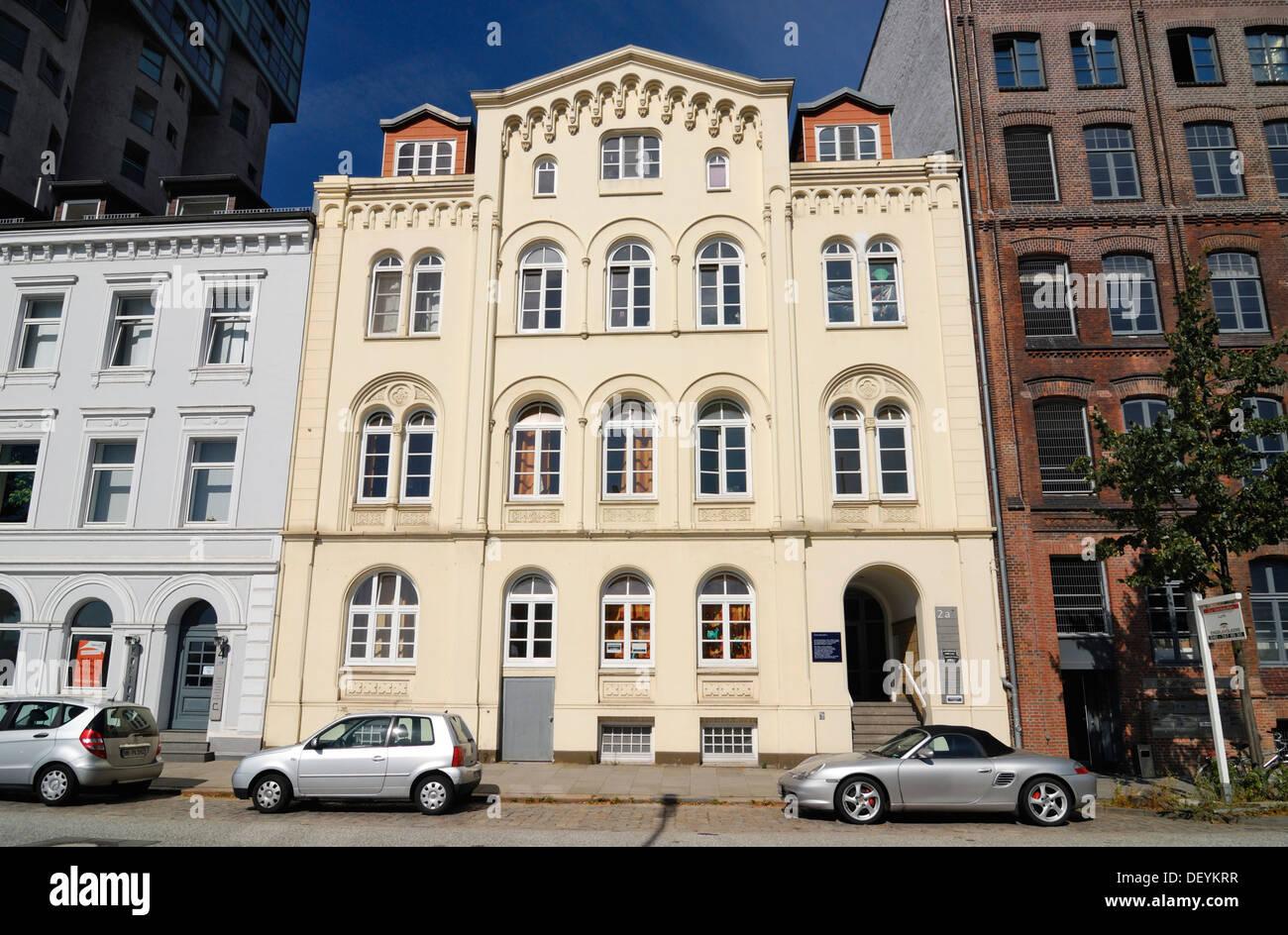 Historic merchant's house on Schellerdamm in Harburg, Hamburg Stock Photo